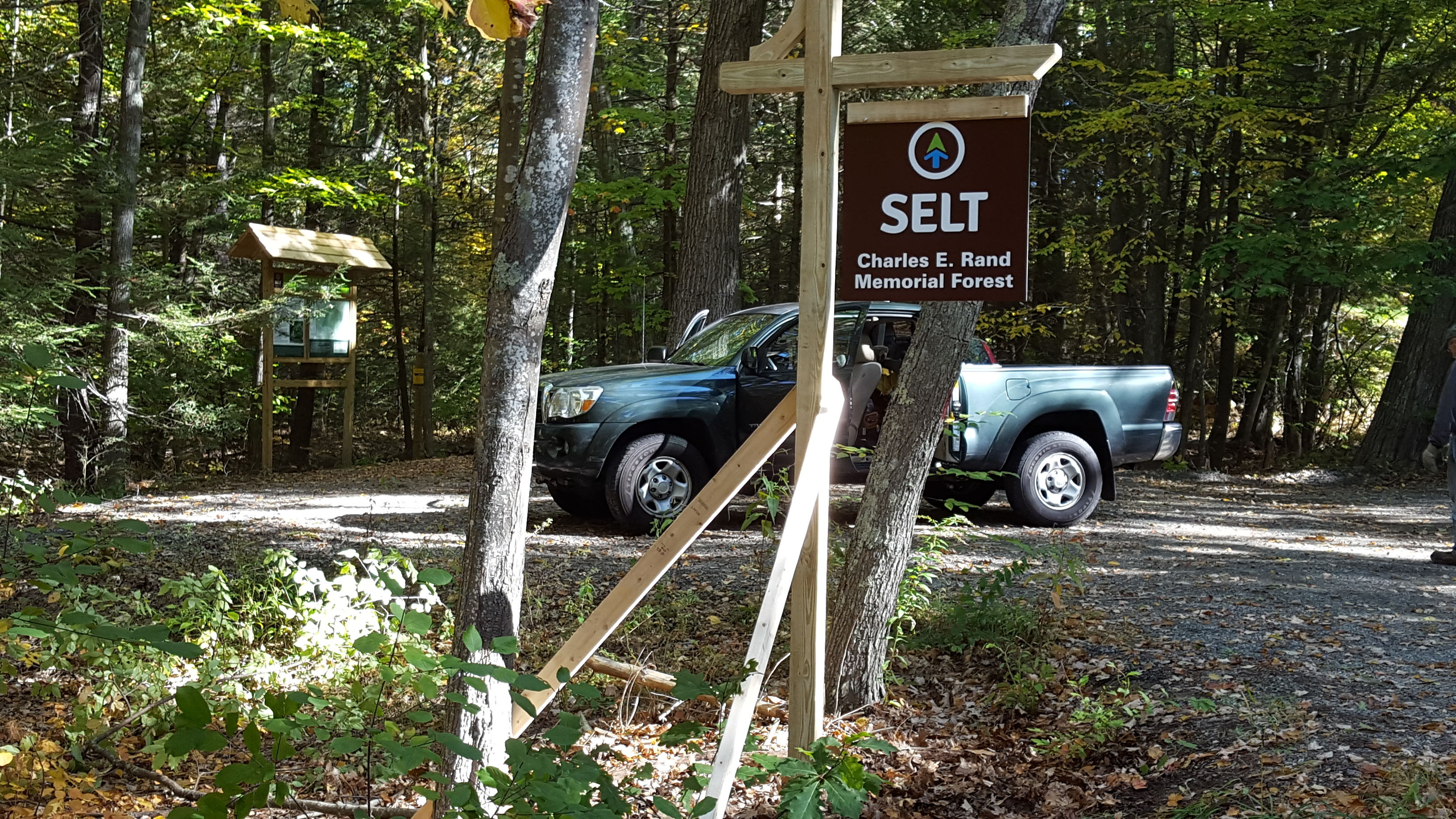 Grand Opening and Tour of the Charles E. Rand Memorial Forest