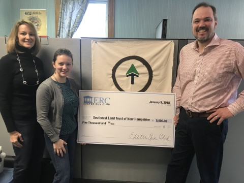 SELT Receives $5,000 Gift from Exeter Run Club